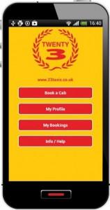 TWENTY3-taxi-app